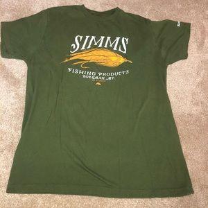 Simms fishing t-shirt